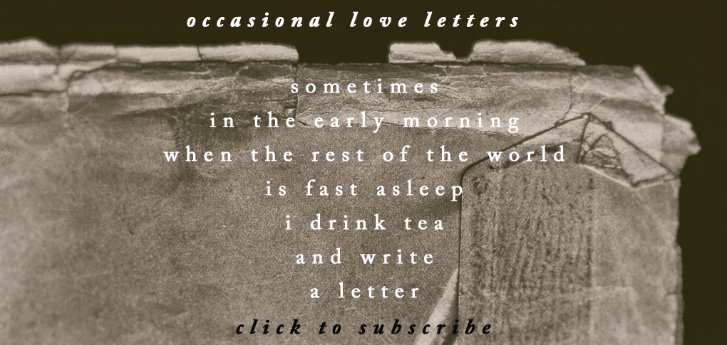 subscribe to love letters www.studiopolle.com